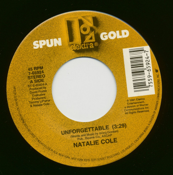 Unforgettable - The Very Thought Of You (7inch, 45rpm)