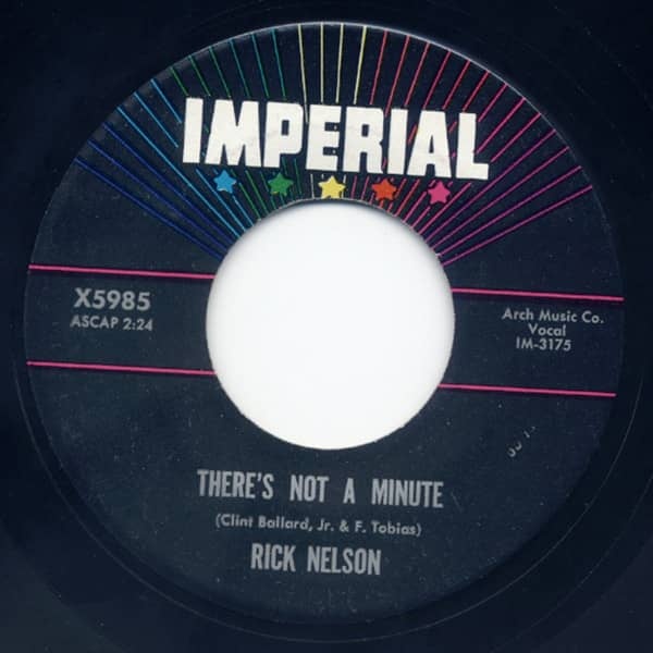 There's Not A Minute - Time After Time 7inch, 45rpm