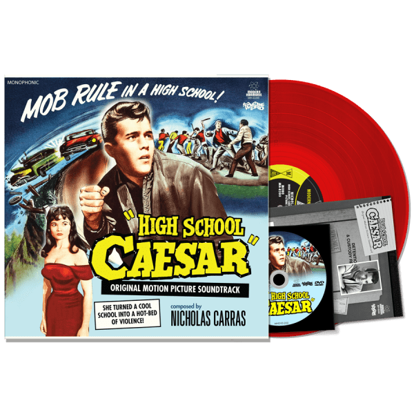 High School Caesar (LP & DVD & Insert)