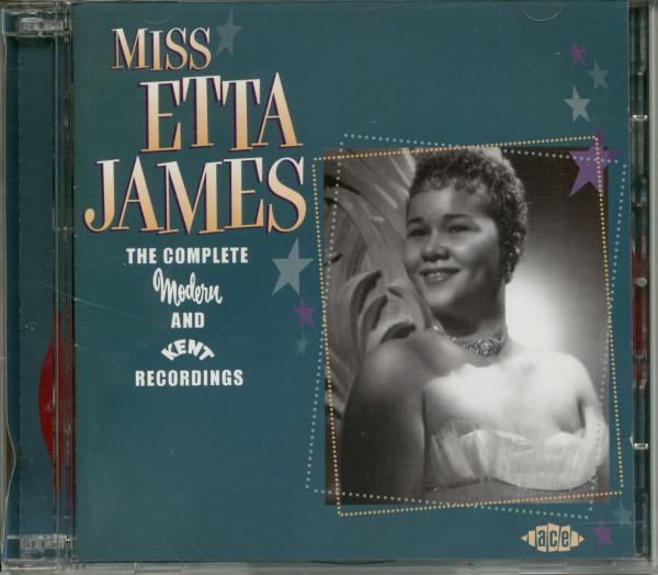 Miss Etta James - Complete Modern & Kent 2-CD