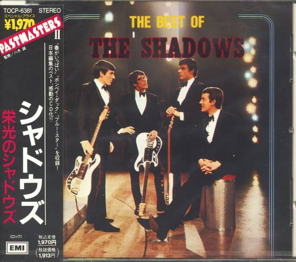 Pastmasters 2 - The Best Of The Shadows (CD, Japan)