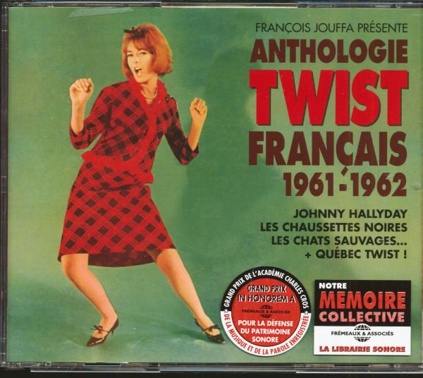 Anthologie Du Twist Francais 1961-1962 (3-CD)