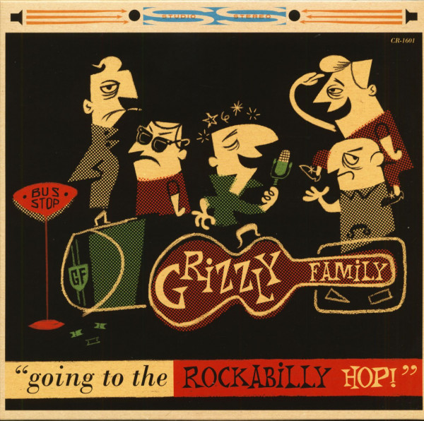 Going To The Rockabilly Hop (10inch LP, Ltd.)