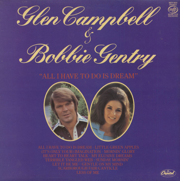 Glen Campbell and Bobbie Gentry - All I Have To Do Is Dream (LP)