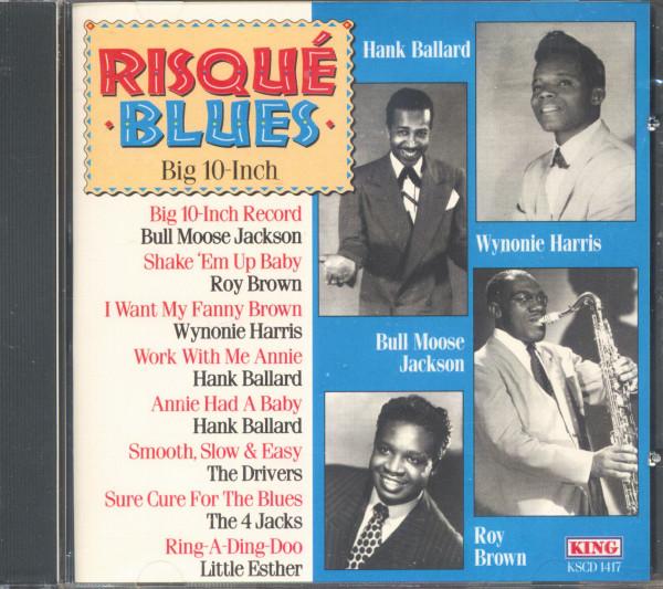 Risqué Blues - Big 10-Inch Record (CD)