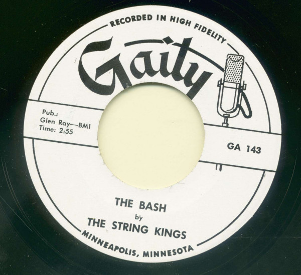 Bloodshot - The Bash (7inch, 45rpm)