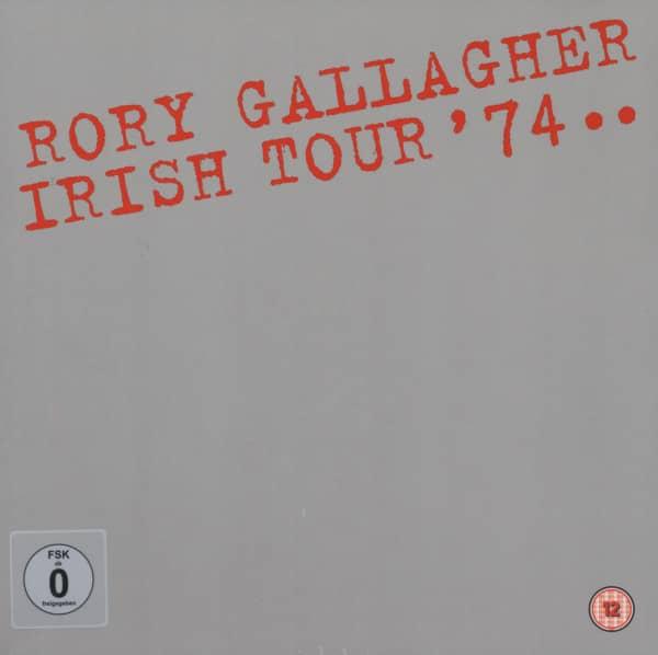 Irish Tour '74 (40th Anniversary Deluxe Box-Set) (7CD + DVD)