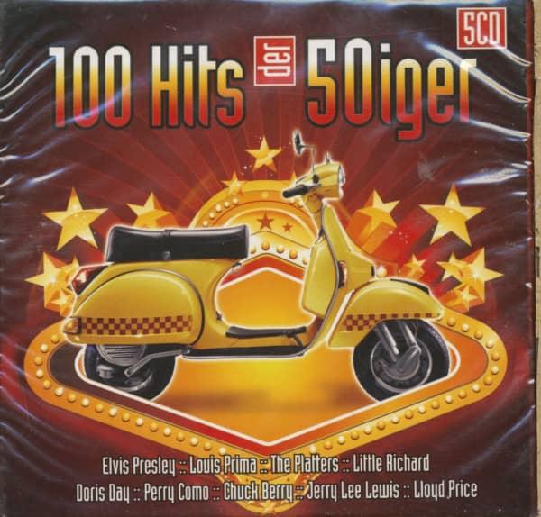 100 Hits der 50iger (5-CD)