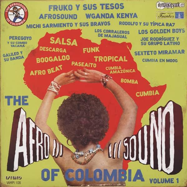 Afrosound Of Columbia (3-LP)