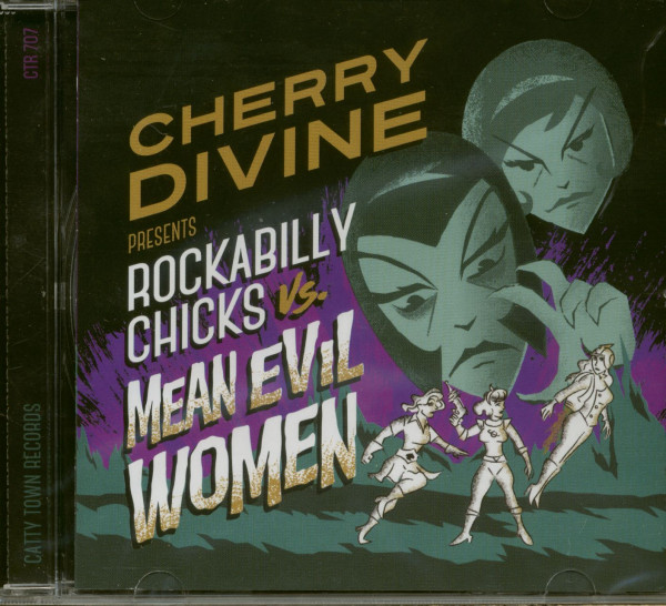 Rockabilly Chicks vs. Mean Evil Women (CD)