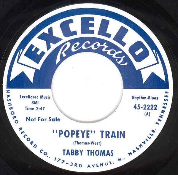 Popeye Train - He's Got The Whole World...7inch, 45rpm