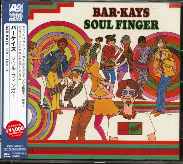 Soul Finger (CD, Japan)