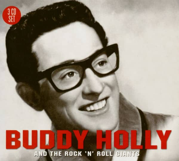 Buddy Holly And The Rock'n'Roll Giants (3-CD)