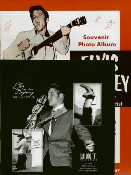 Elvis In The Beginning - Mr.Dynamite (7inch, 45rpm, Picture Sleeve + Booklet)