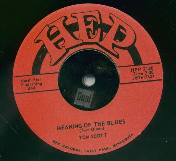 Record Hop - Meaning Of The Blues (7inch, 45rpm)