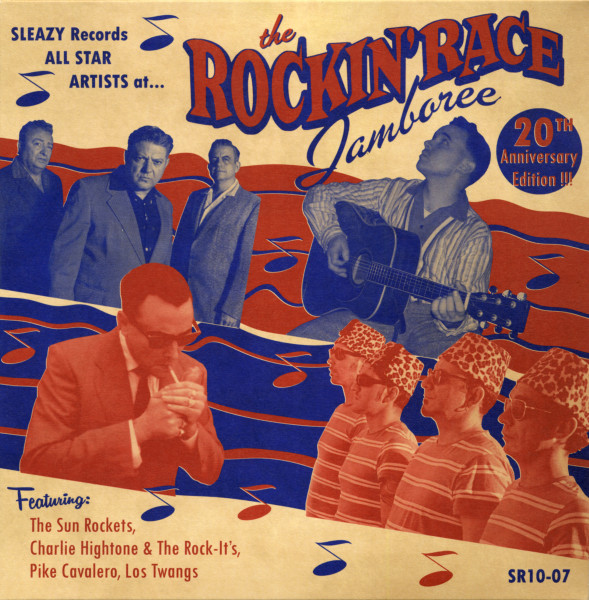 The Rockin' Race Jamboree - 20th Anniversary Edition 10inch LP