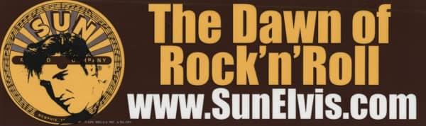 The Dawn Of R&R - Bumper Sticker 25x7.5 cm