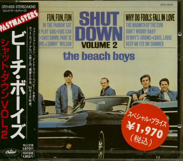 Shut Down (CD Japan)