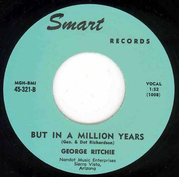 But In A Million Years b-w Is That Light In Your 7inch, 45rpm