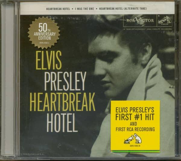 Heartbreak Hotel - 50th Anniversary (CD Single, US Version)