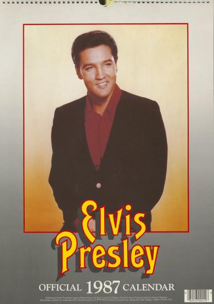 Elvis Presley - Official 1987 Calendar