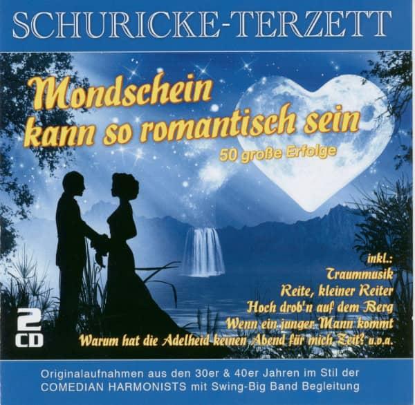 Mondschein kann so romantisch sein - 50 große Erfolge (2-CD)