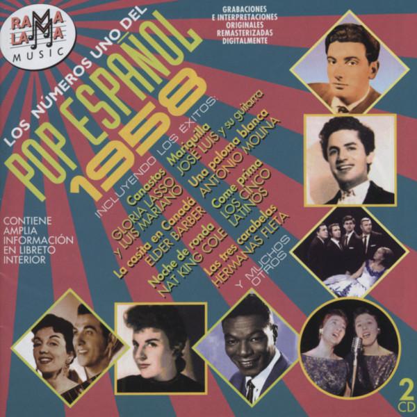 Los Números Uno Del Pop Espanol - 1958 (2-CD)