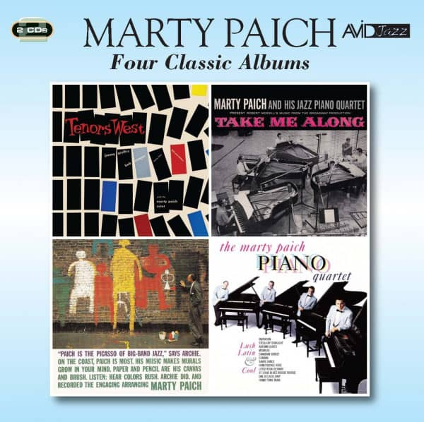 Four Classic Albums (Tenors West & Take Me Along & The Picasso Of Big Band Jazz & Lush, Latin And Co