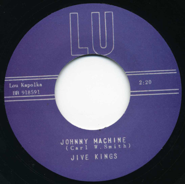Johnny Machine - Preacher Man 7inch, 45rpm