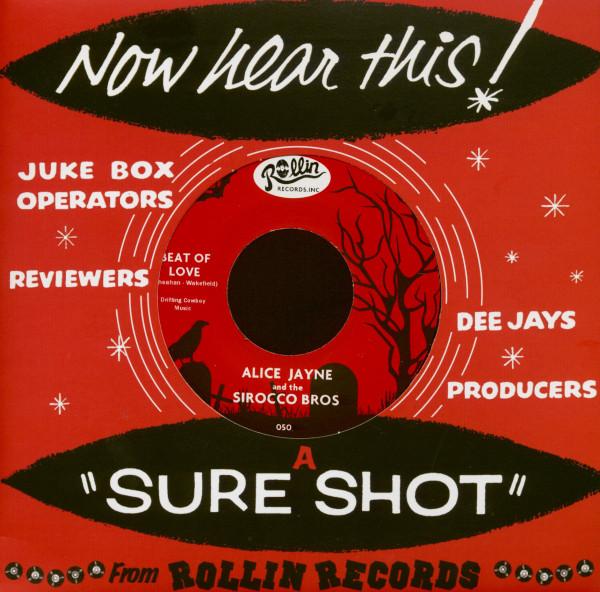 Sirocco Brothers & Alice Jayne Beat Of Love - Hoo Doo (7inch, 45rpm, Company Sleeve)