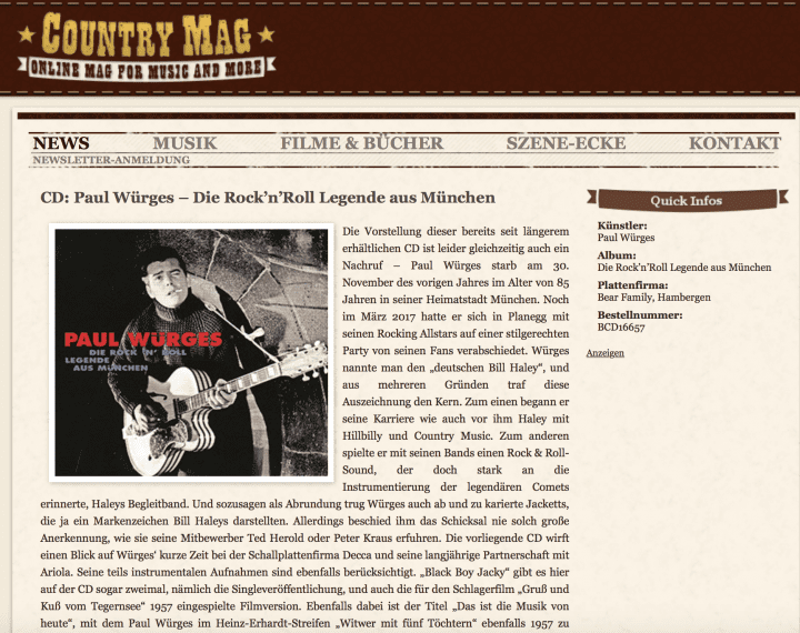 Presse-Archiv-Paul-W-rges-Die-Rock-n-Roll-Legende-aus-Muenchen-CD-country-mag