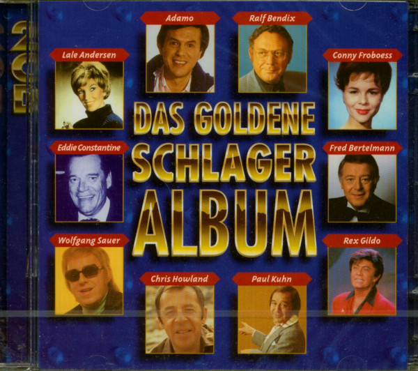 Goldenes Schlageralbum 1955-65 (2-CD)