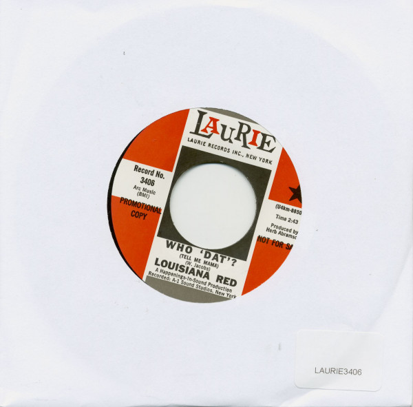 Whio 'Dat'? b-w Little Girl, Take Your Time 45 rpm