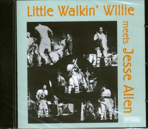 Little Walkin' Willie Jesse Allen (CD)