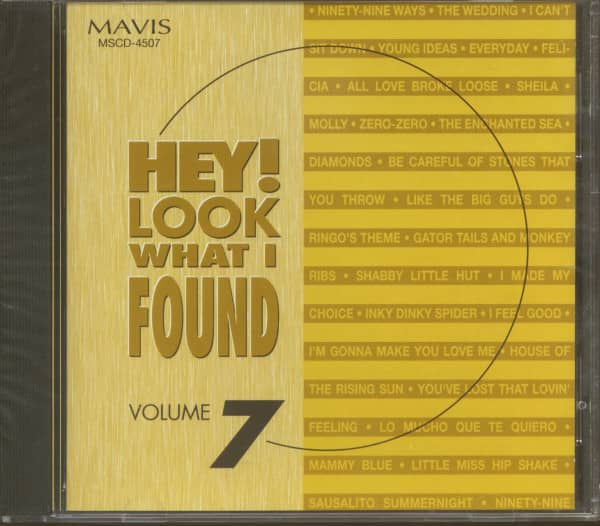 Hey! Look What I Found Vol.7 (CD)