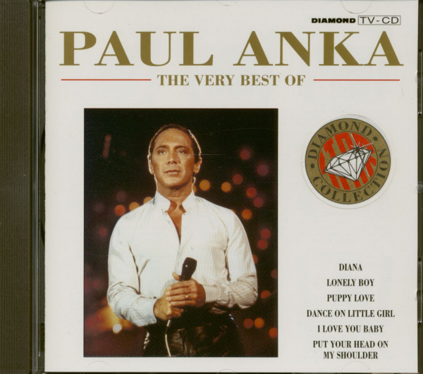 The Very Best Of Paul Anka (CD)