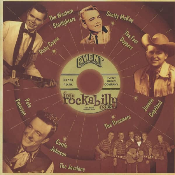 Event Records - Top Rockabilly Cats (LP)