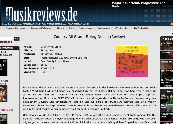 Press-Archive-COUNTRY-ALL-STARS-String-Dustin-LP-10inch-Ltd-musicreviews