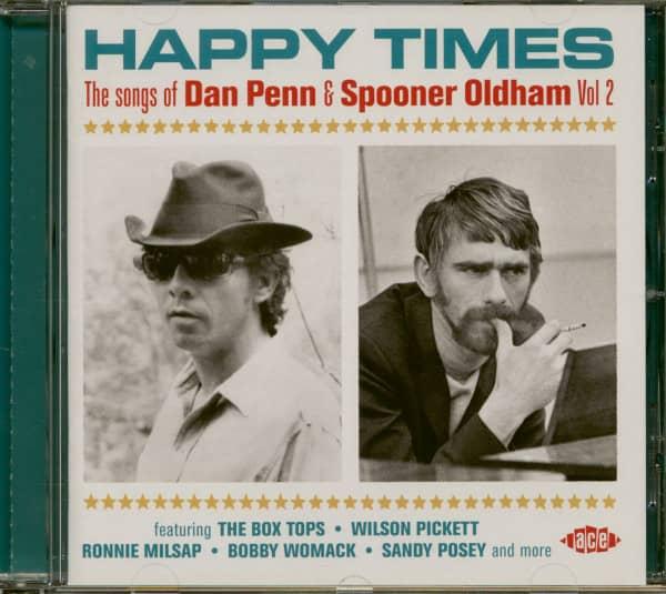 Happy Times - Songs Of Dan Penn & Spooner Oldham Vol.2 (CD)