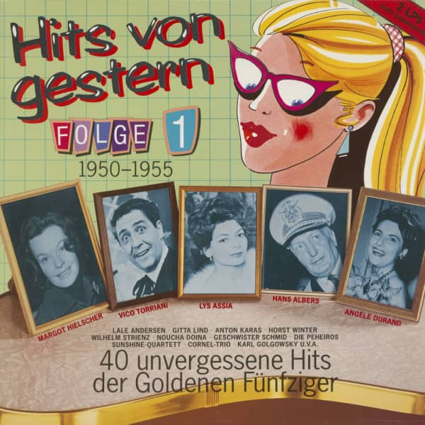Hits von Gestern, Vol.1 (2-LP)