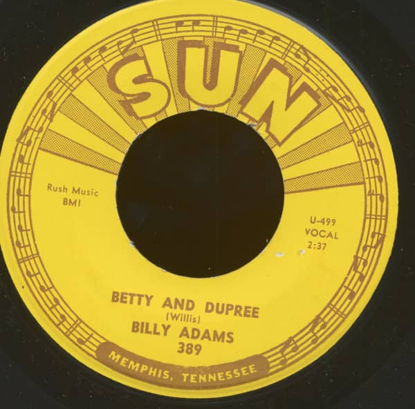 Betty And Dupree b-w Got My Mojo Workin' (45rpm, 7inch)