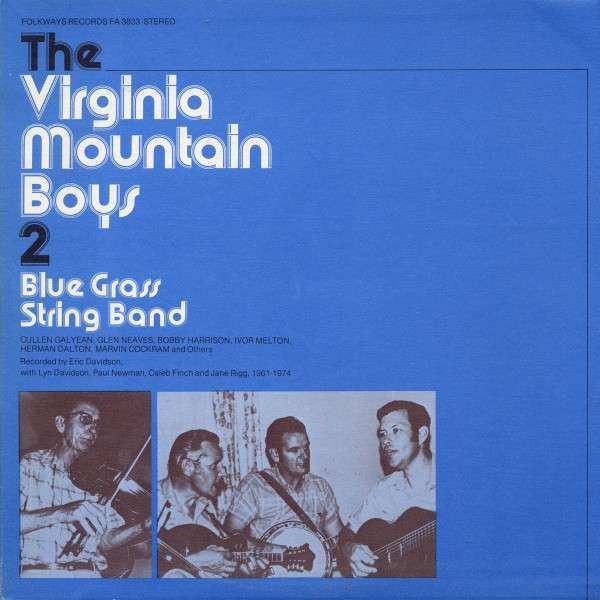 Virginia Mountain Boys, Vol. 2: Bluegrass String Band