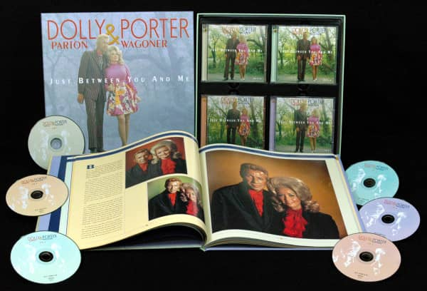 Dolly Parton & Porter Wagoner - Just Between You And Me - Complete Recordings 1967-76 (6-CD)