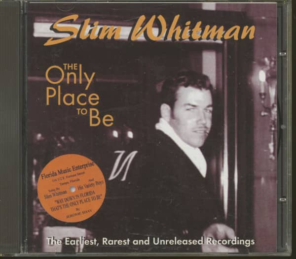 The Only Place To Be - The Earliest, rarest And Unreleased Recordings (CD)