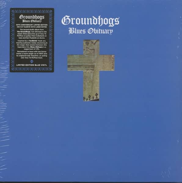 Blues Obituary (LP, Ltd., Blue Vinyl)