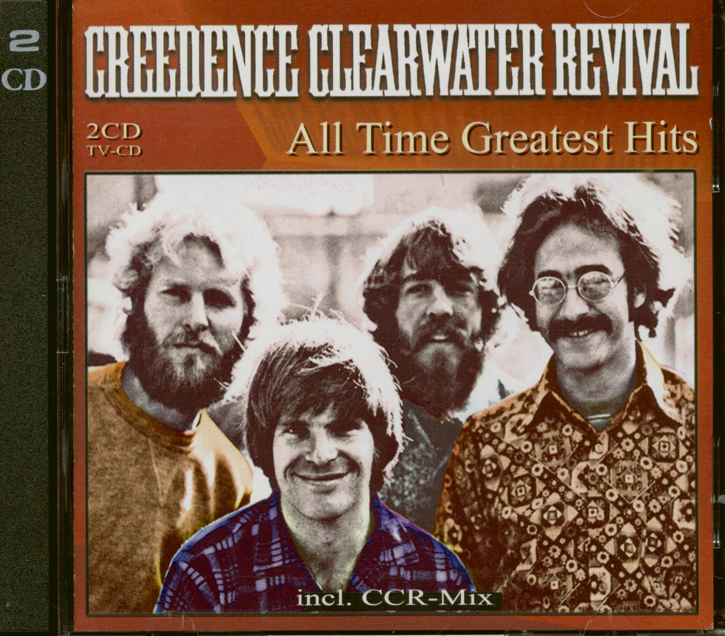 Creedence Clearwater Revival CD All Time Greatest Hits 20 CD   Bear  Family Records