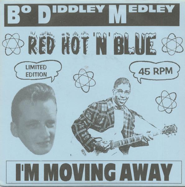 Bo Diddley Medley b-w I'm Moving Away 7inch, 45rpm, PS, SC