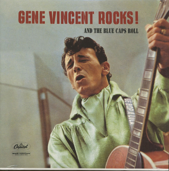 Gene Vincent Rocks And The Blue Caps Roll (LP)