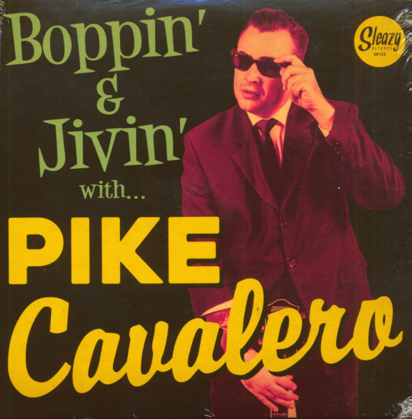 Boppin' & Jivin' With Pike Cavalero (EP, 7inch, 45rpm, PS)