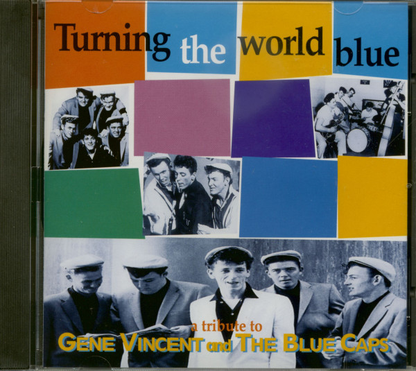 Turning The World Blue - Gene Vincent Tribute (CD)